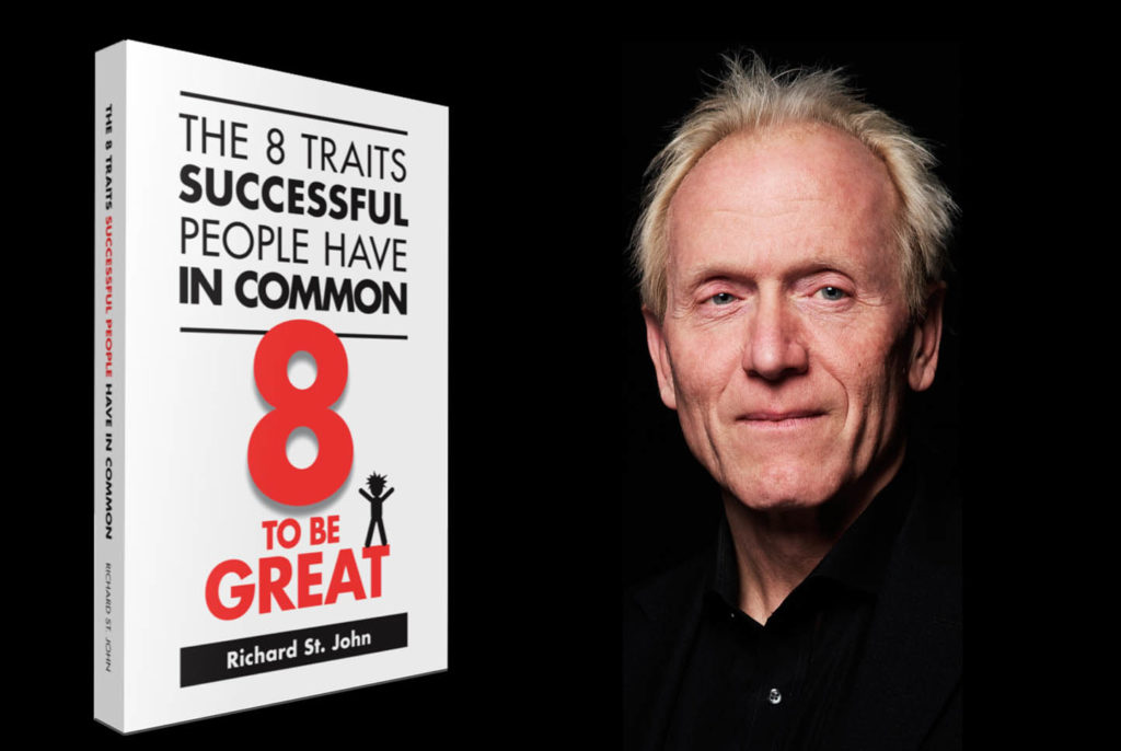 RICHARD ST. JOHN THE 8 TRAITS OF SUCCESSFUL PEOPLE TED TALK INSPIRING MOTIVATIONAL