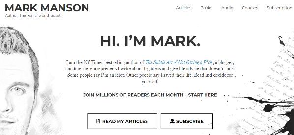 markmanson.com
