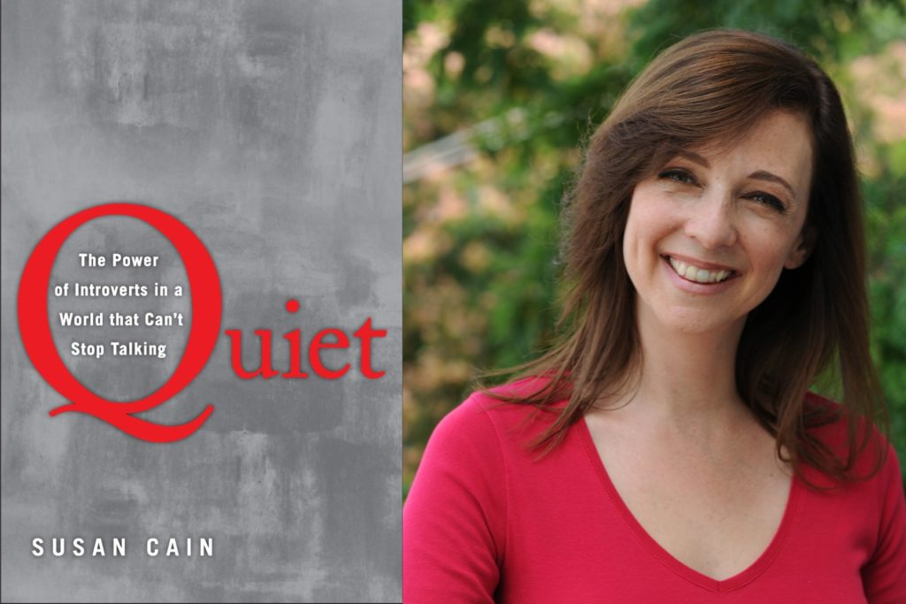 SUSAN CAIN QUIET TED TALK INSPIRING MOTIVATIONAL