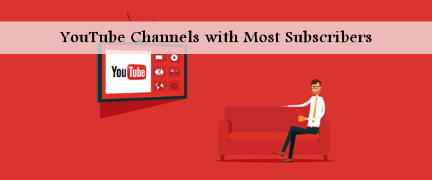 Top 16 youtube channel names with most subscribers